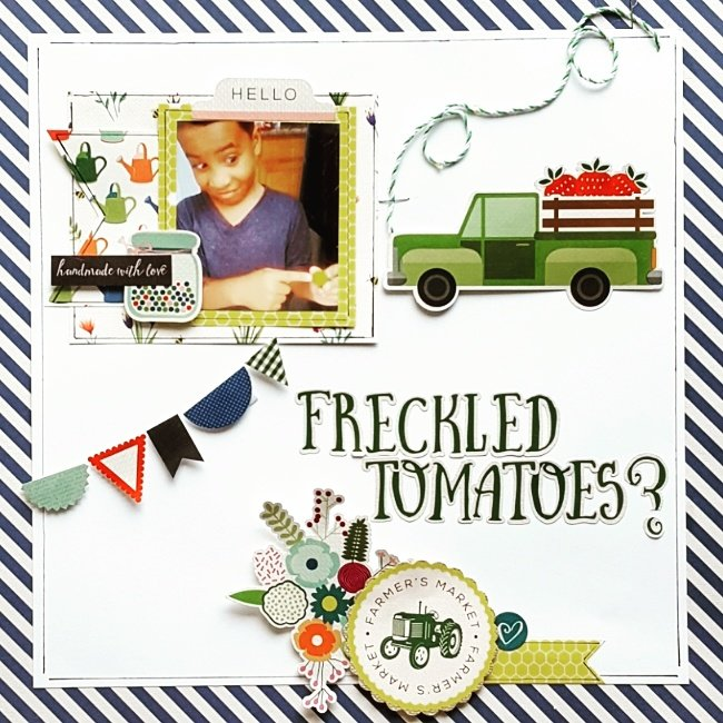 Freckled Tomatoes