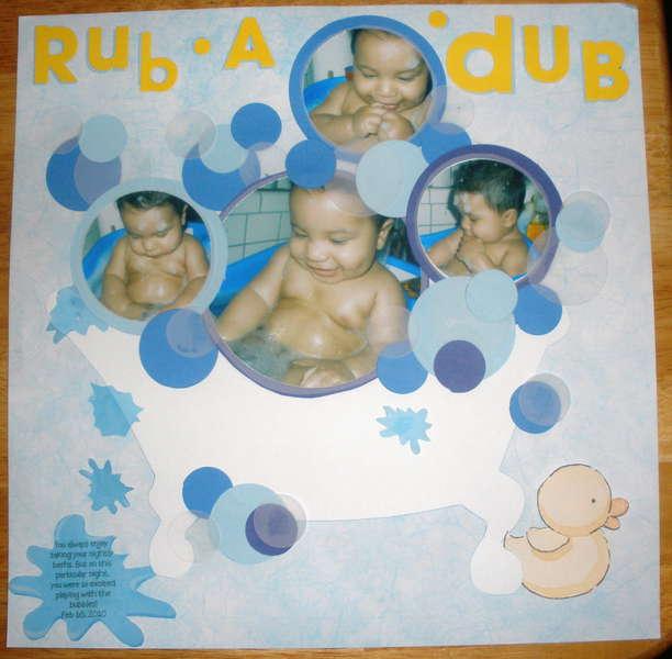 Rub A Dub ~ Shawn's In The Tub!