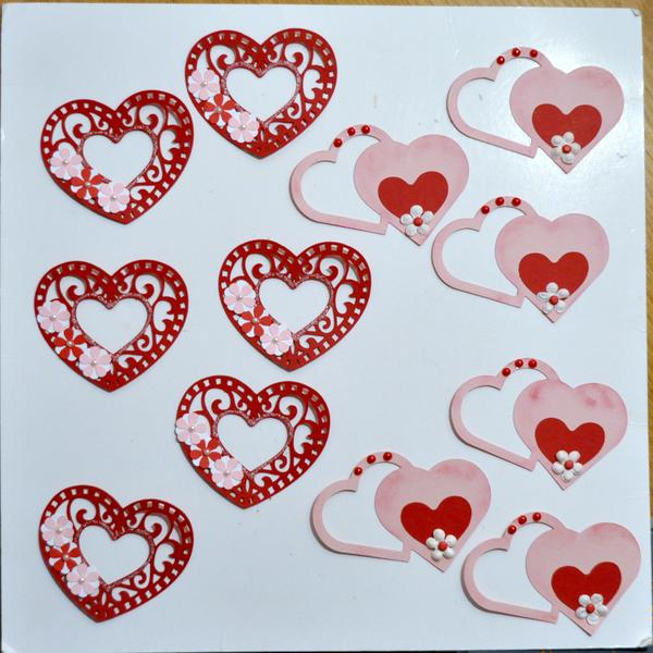 Heart Embellishments