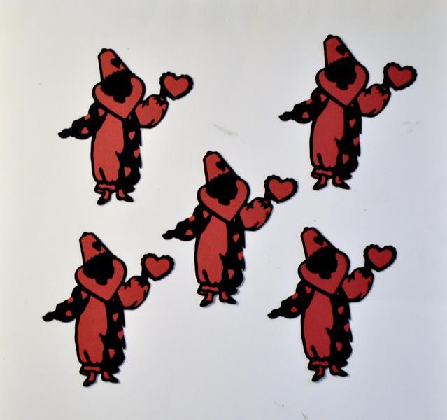 January/Valentine's Die Cut Swap