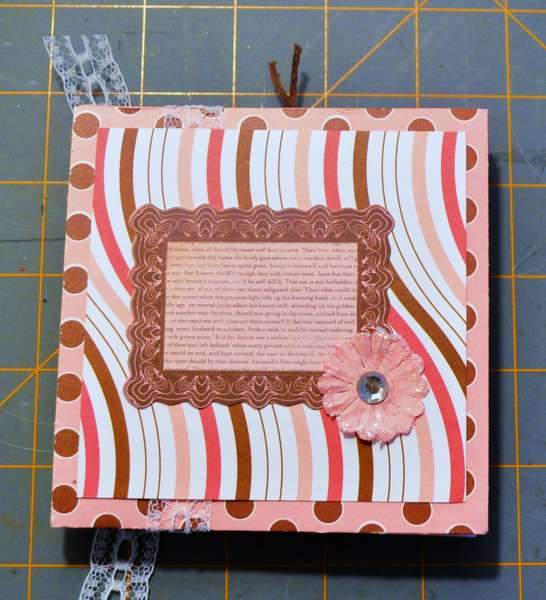 Back of Accordian Album for ScrappinLilly..