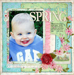 Wake Up Spring by Linda Albrecht for Melissa Frances