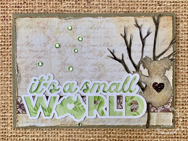 It's a small world card