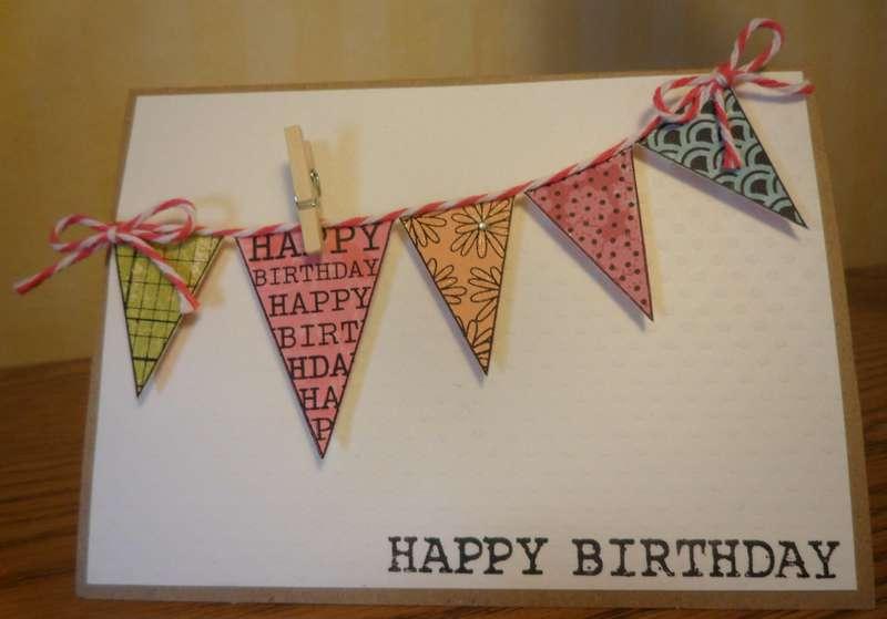banner style birthday