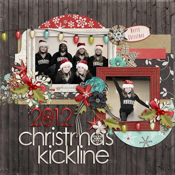 2012 Christmas Kickline