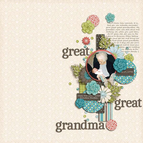 Great-Great Grandma
