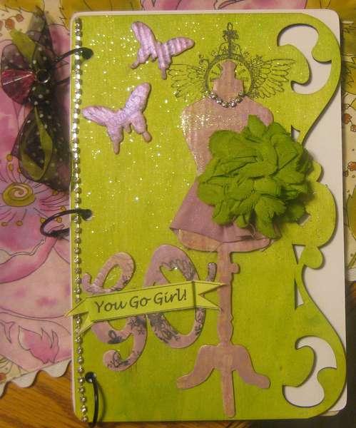 Tattered Angels You Go Girl mini