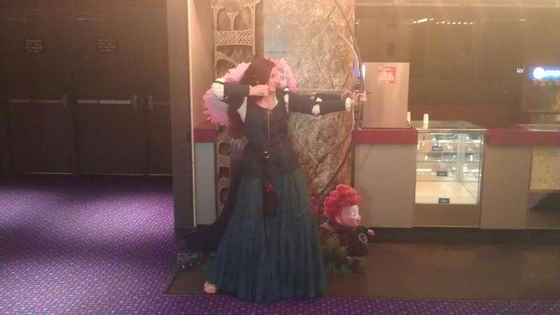 Merida *MOA 'Brave' screening*