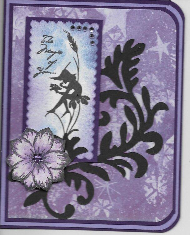 Magic of U in purple