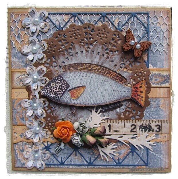 Fish card.