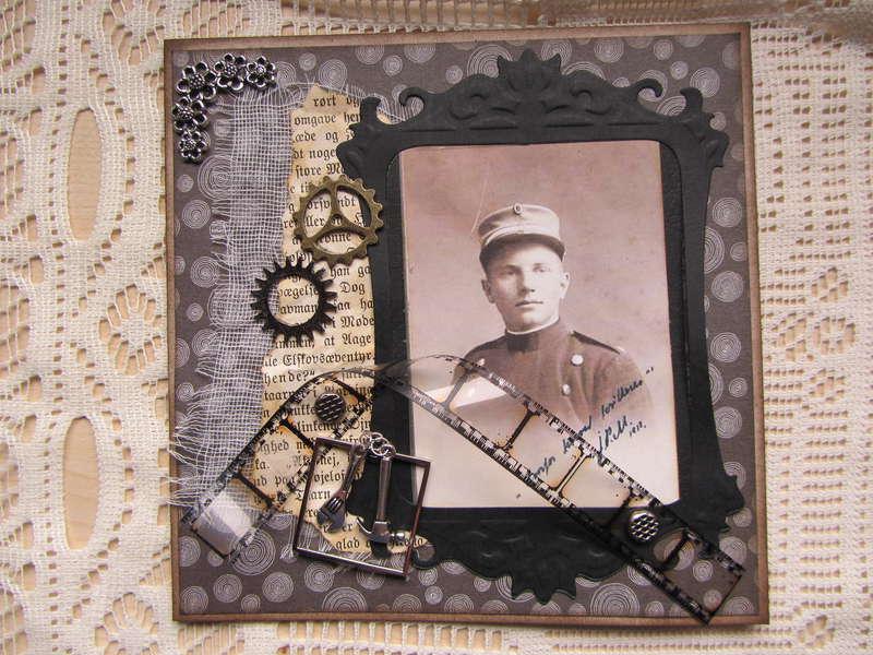 Vintage male card