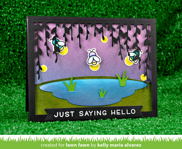 Bayou Fireflies Glow in the Dark Card
