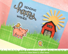 Critters on the Farm Card