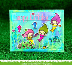 Ivy's Mermaid Birthday Card