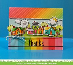 Happy Village Card
