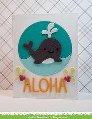Aloha Felt Whale