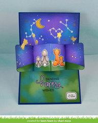 Make a Wish Pivot Pop Up Card