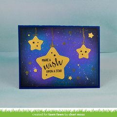 Make a Wish Pivot Pop Up Card Front