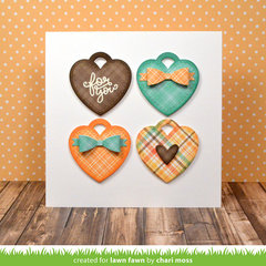 Lovely Heart Tags