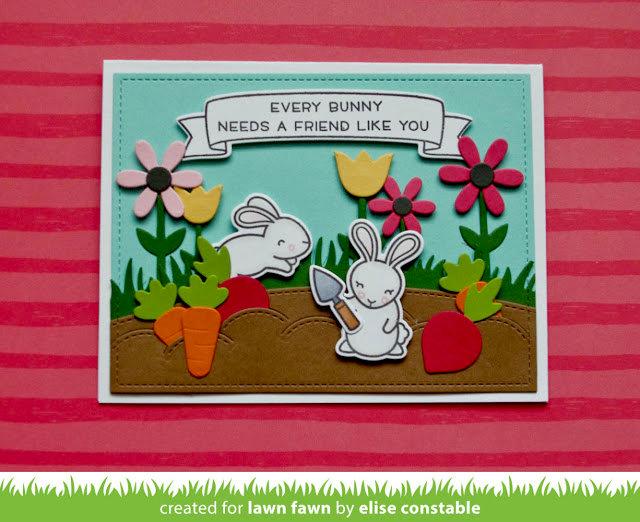 Bunny Garden Card