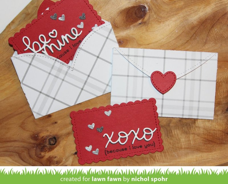 Valentine Heart Envelopes