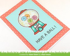 HAVE A BALL Shaker Card