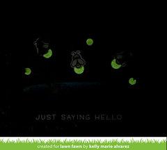 Bayou Fireflies Glowing