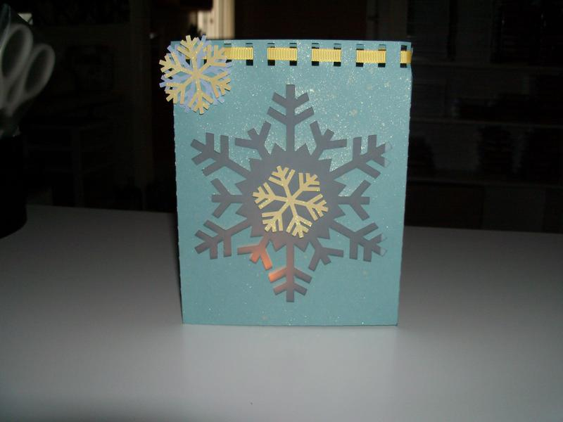 snow flake luminaria