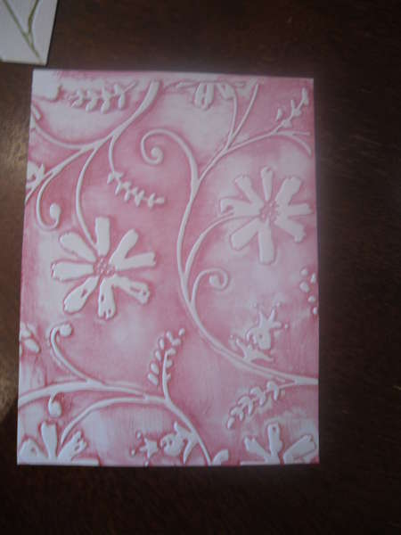 Inked Embossing