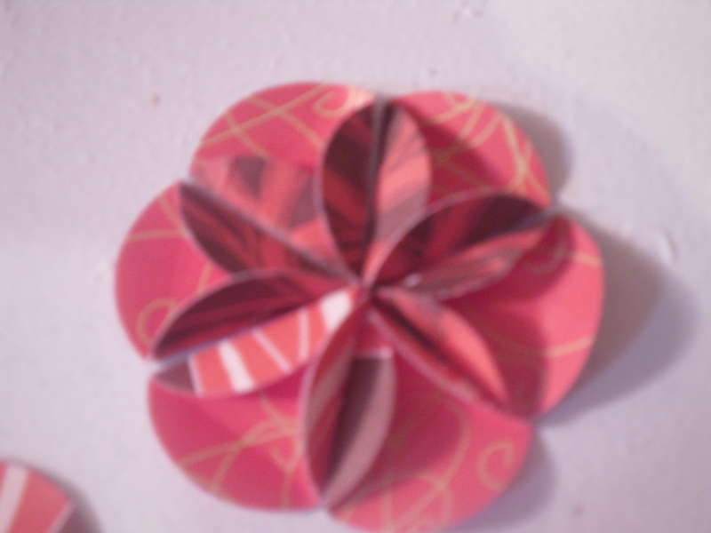 Circle Punch Flower