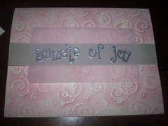 Bundle of Joy Baby Card