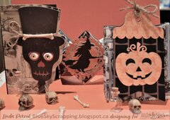 Spooky Halloween Cards and Treat Bag