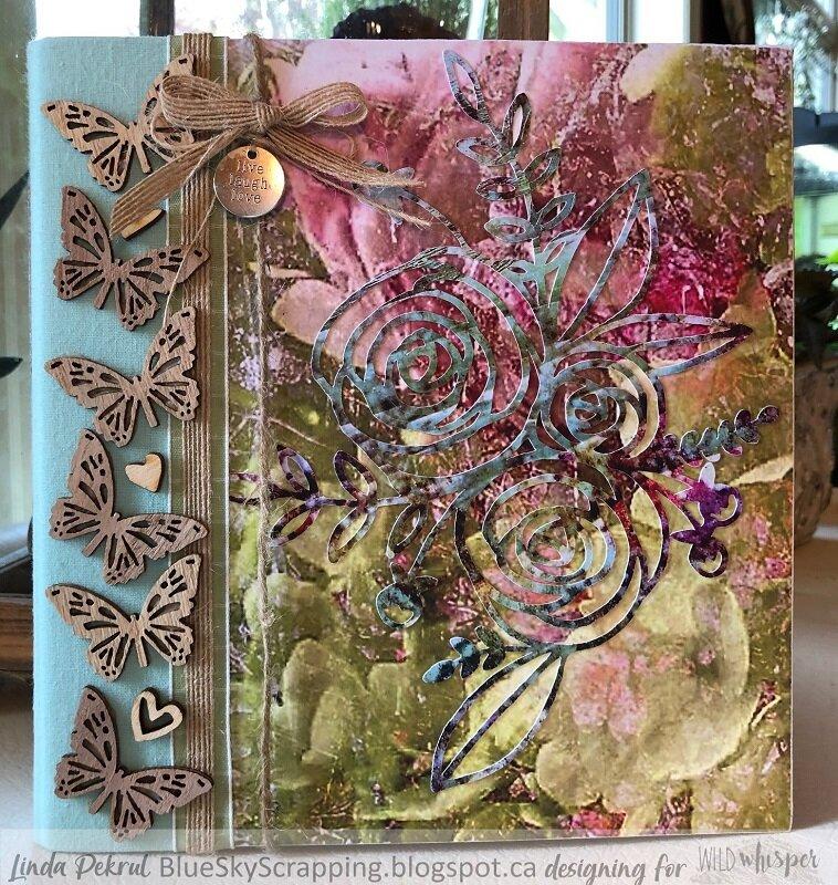 Watercolor Pocket Album