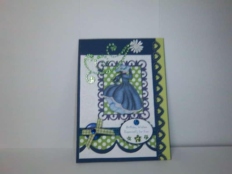 Sister's BD card
