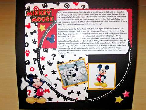 History of Mickey Mouse