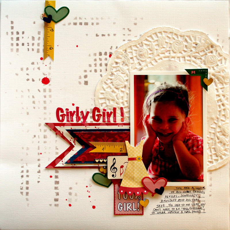 Girly Girl - Big Pircture class 2012