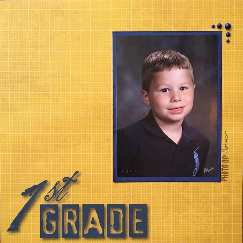 First grade Fall
