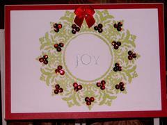 Christmas Wreath Joy