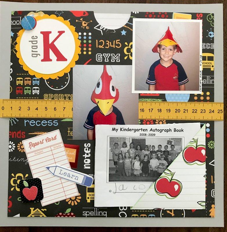 Kindergarten memorabilia