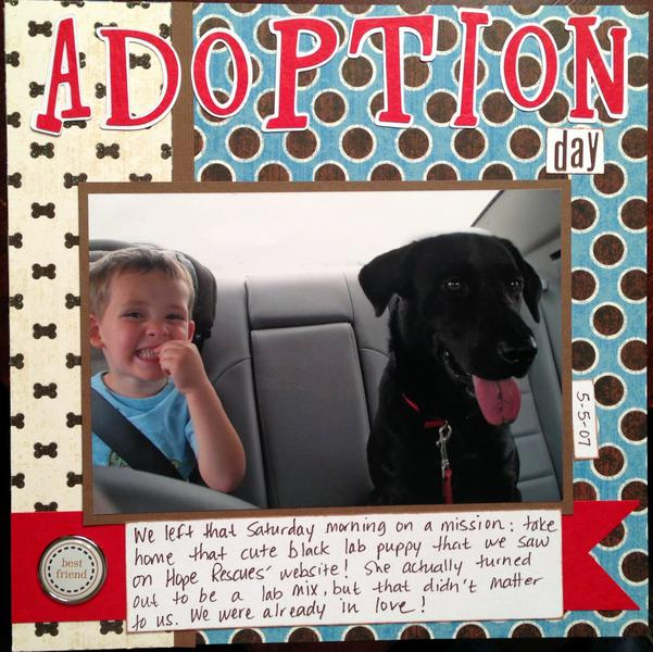 Macy's Adoption Day