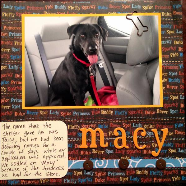 Naming Macy