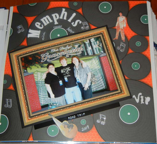 First Page of the Memphis Road Trip 2009 Album