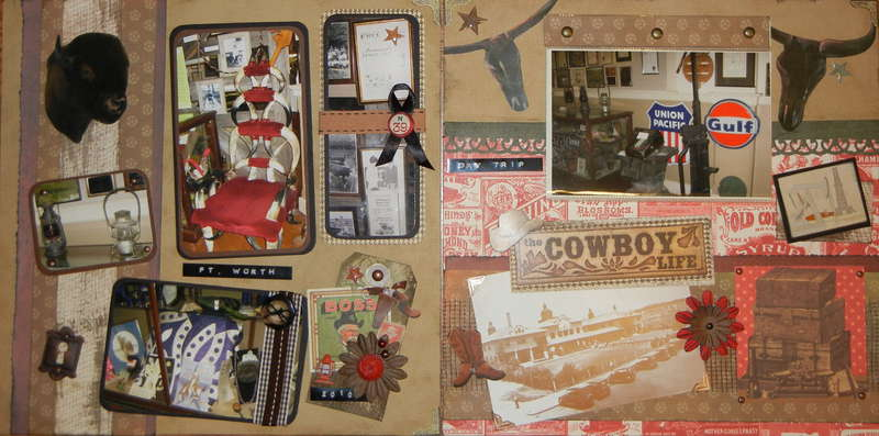 Fort Worth Stockyard Museum - Mini Flip Pages