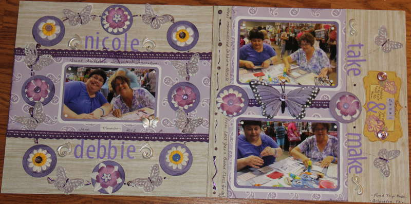 Scrapbook Convention Take and Make