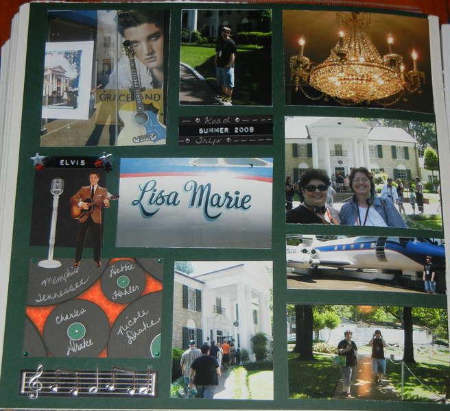 Last Page Memphis Road Trip Graceland Album 2009