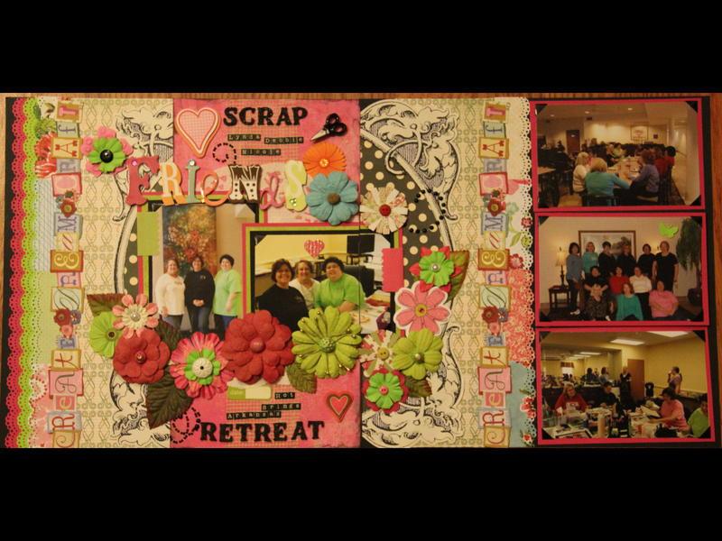 Scrapbook Friends Retreat