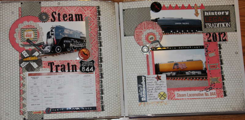 Union Pacific Steam Engine 844 ~ History-Legacy-Tradition