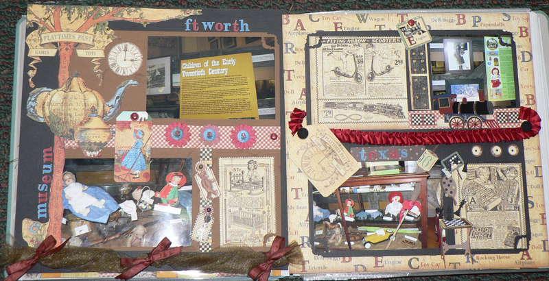 Vintage Toy Exhibit ~ Ft. Worth Stockyard Museum *G45*