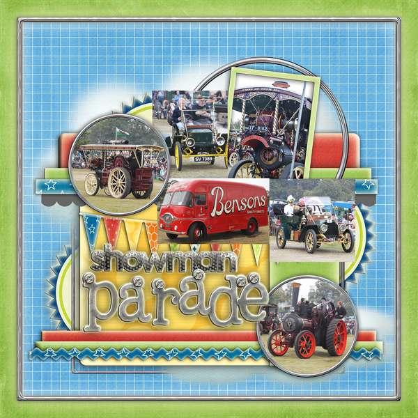 showman parade
