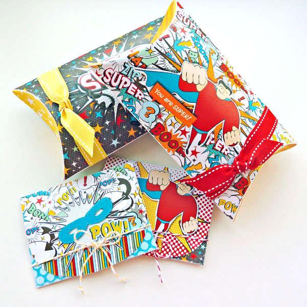 Super Hero Giftboxes